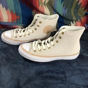 Converse hi tops suede leather Men's 10.5